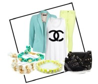 Yellow & Mint, Cotton candy