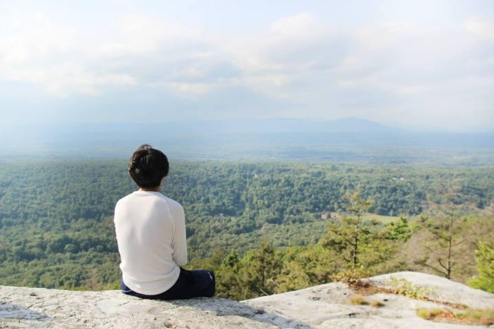 先日ハイキングをしたNYのMohonkマウンテン。
