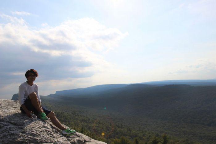 去年の8月にMohawk Mountainに登った時
