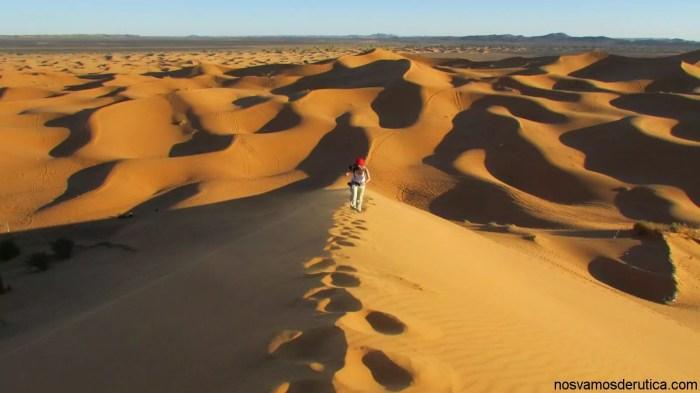 Subiendo la gran duna! ufff!