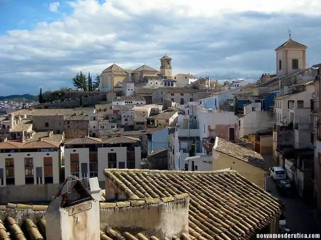 Vista desde lo alto del casco antiguo de Cehegin