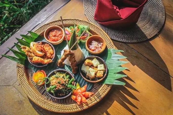 Comida del hotel Gana