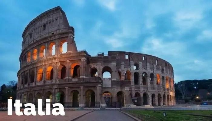 Nos vamos a Italia