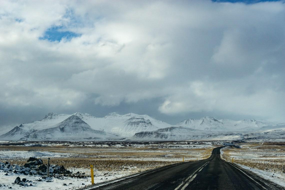 Las carreteras en Islandia