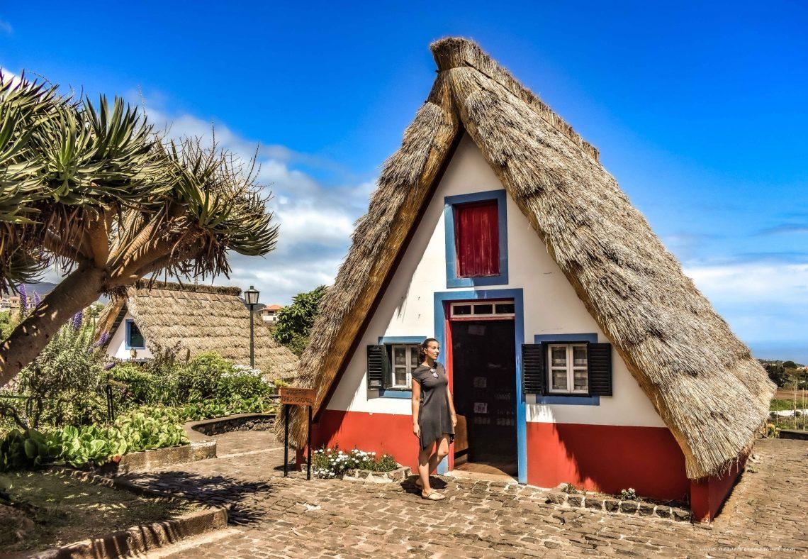 Casas Santana, Madeira