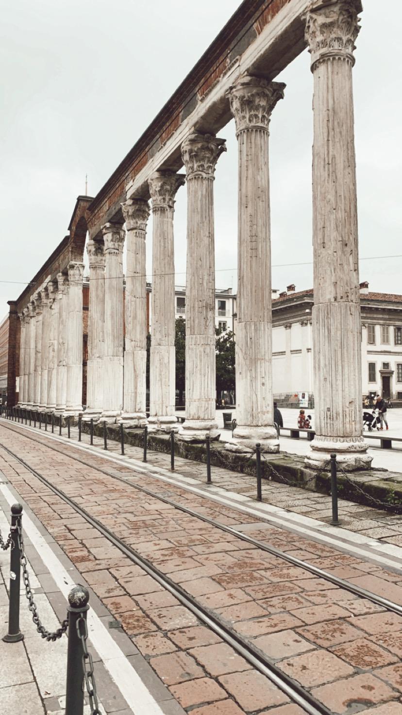 Columnas de la ciudad de Mediolanum, Milán