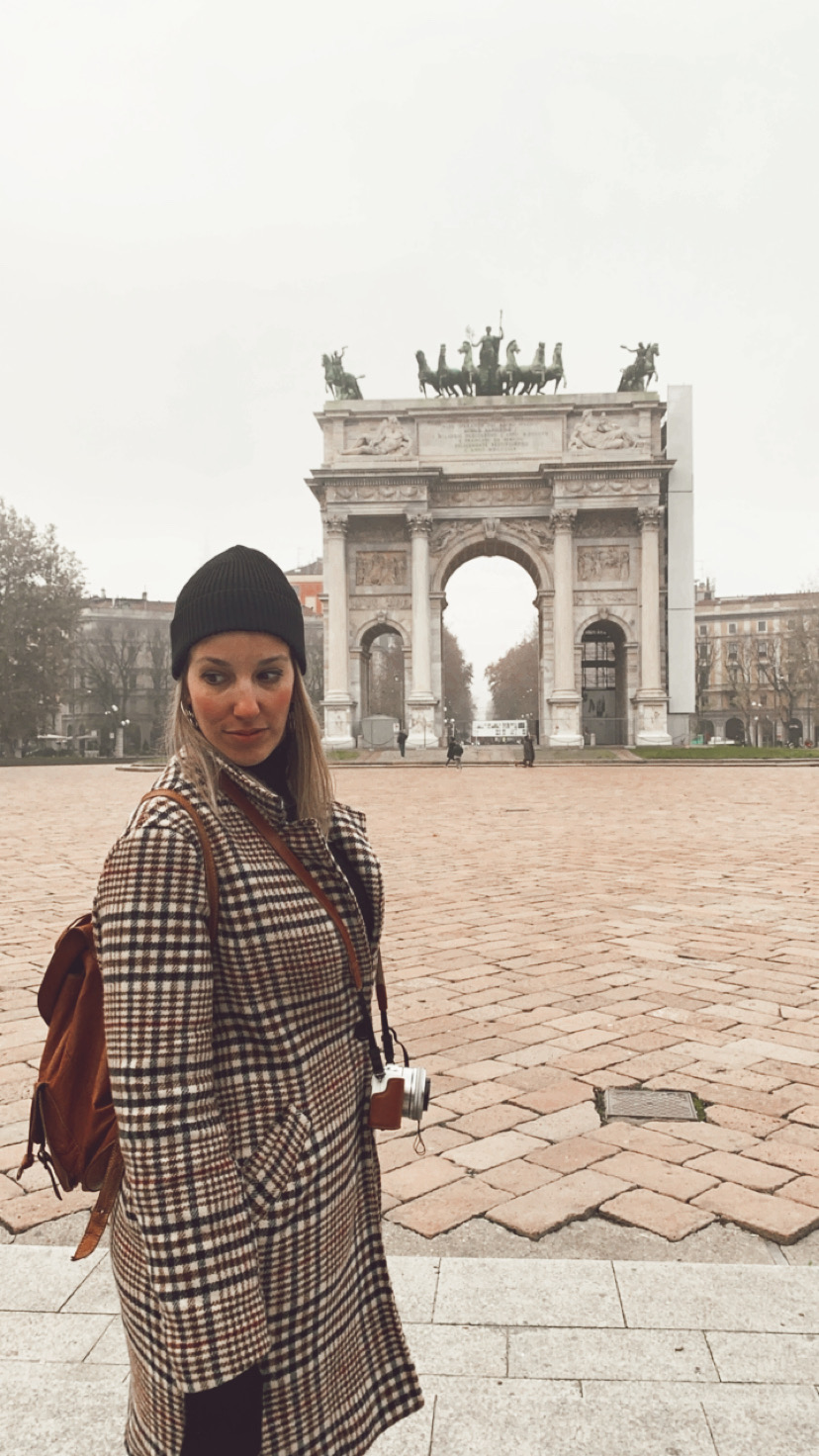 Arco de La Paz, Milán