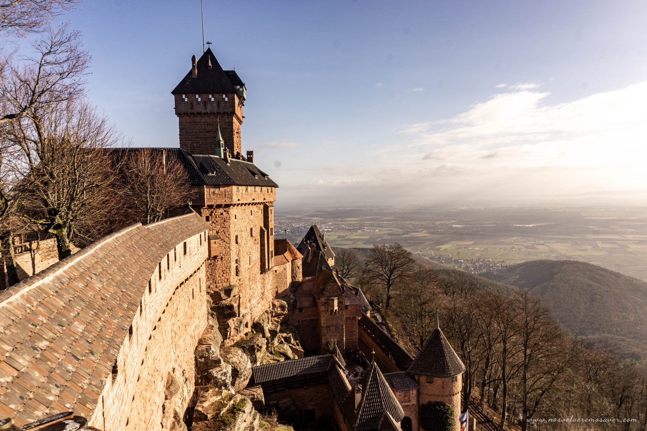 Castillo Haut-Koeningbourg Alsacia