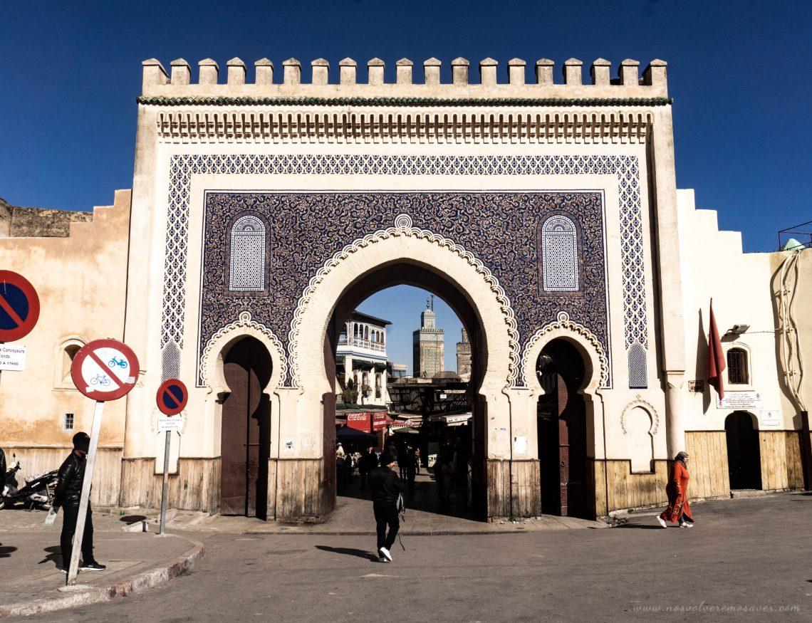 Puerta Azul, Fez