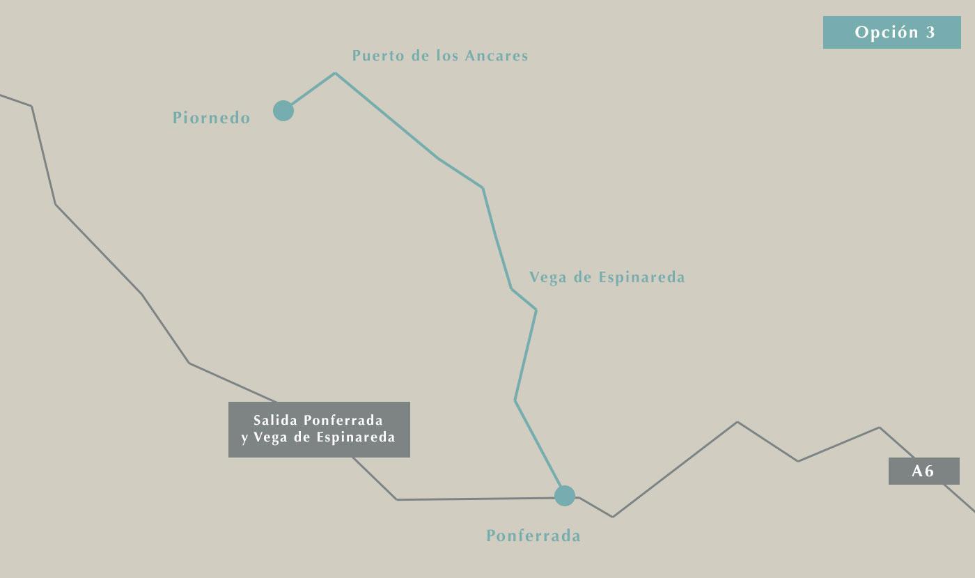 Cómo llegar a Piornedo desde Madrid