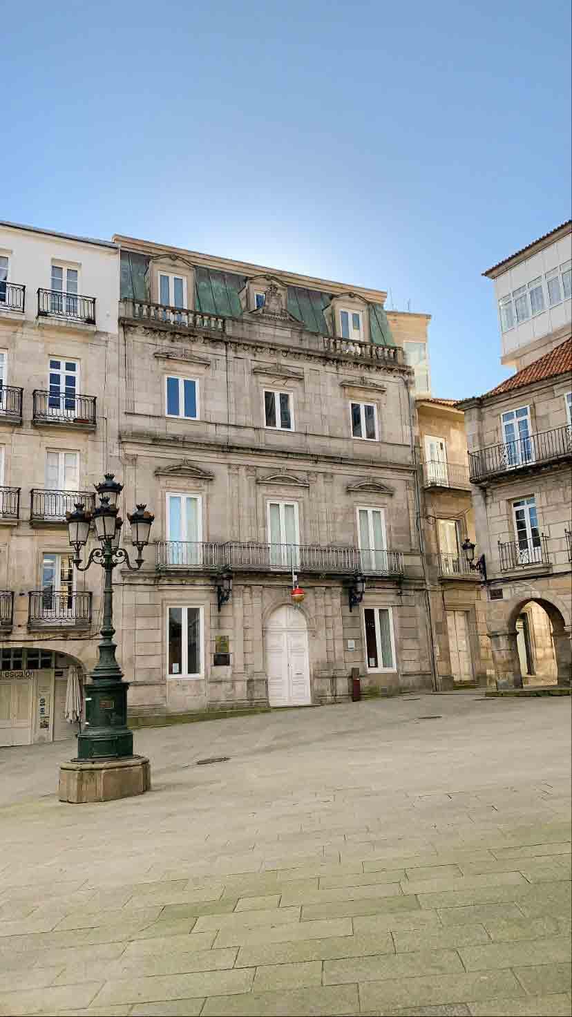 Praza da Constitución (Casco Antiguo de Vigo)