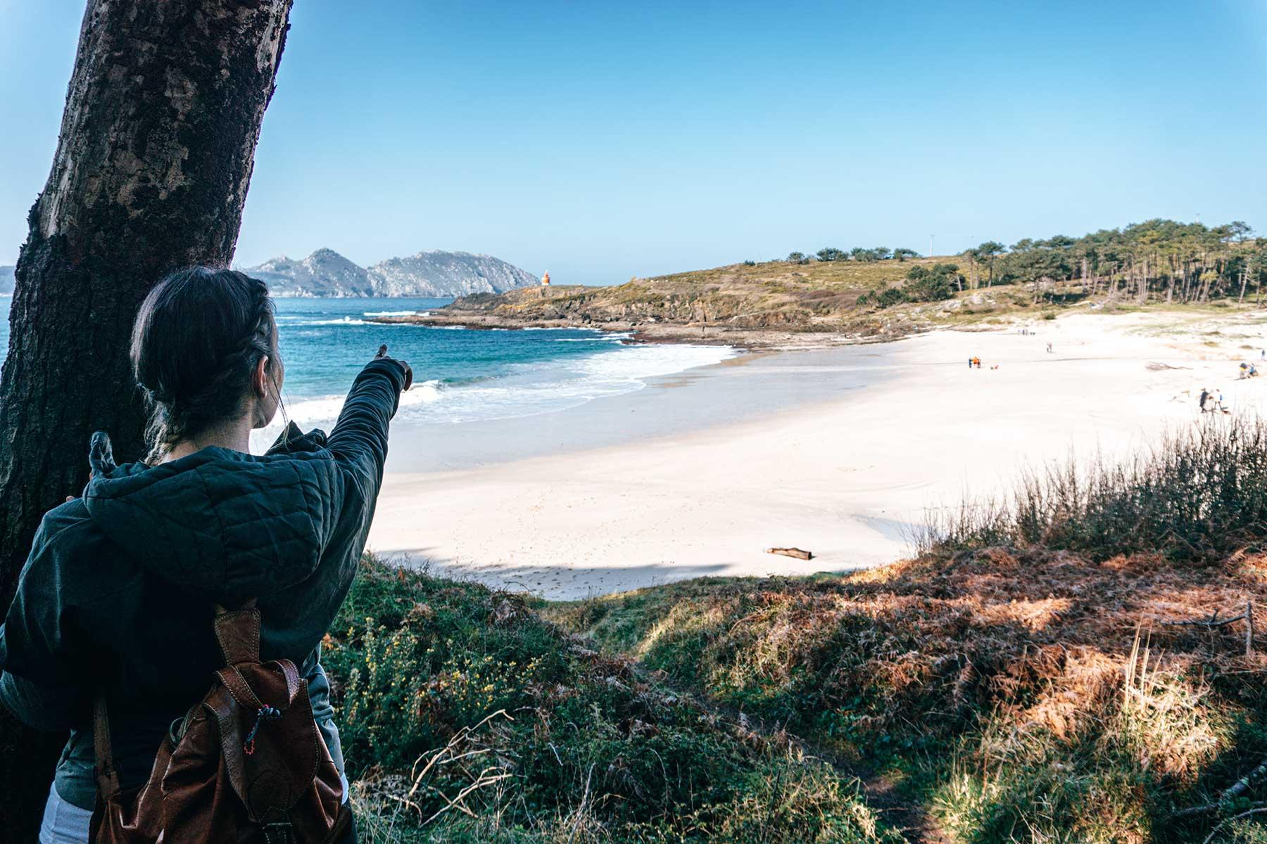Roteiro de Donón (Praia de Melide en Cabo Home, Cangas)