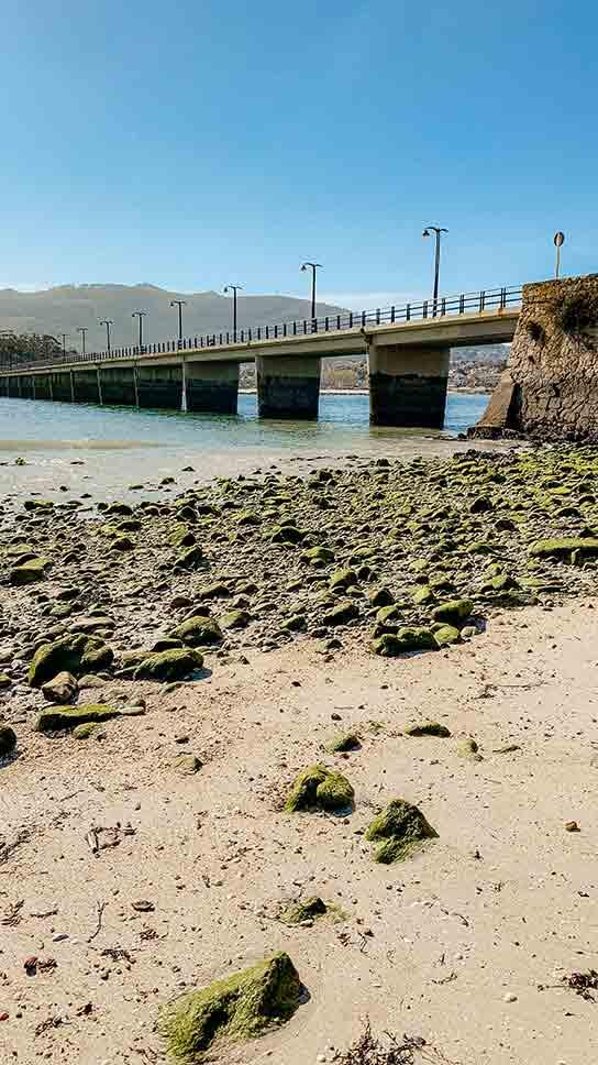 Puente de Toralla (Isla de Toralla)