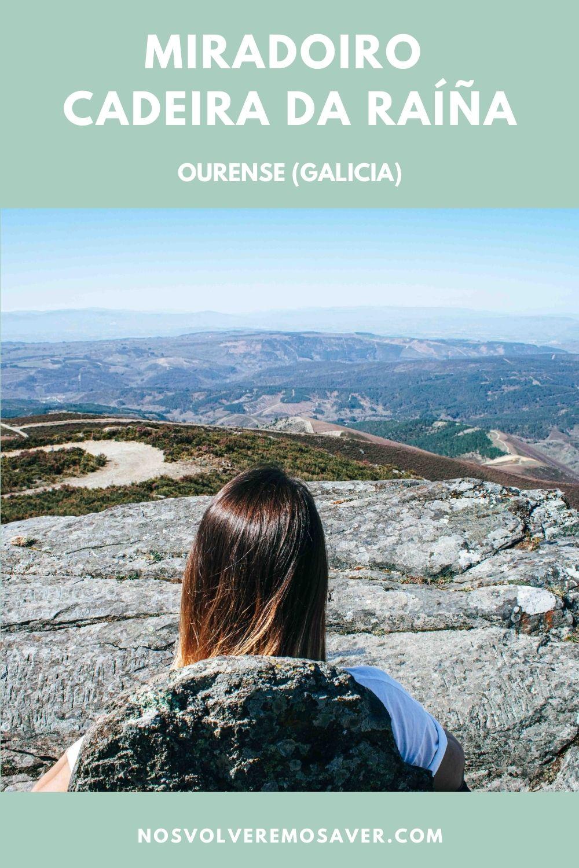Mirador Silla de la Reina (Ourense, Galicia)
