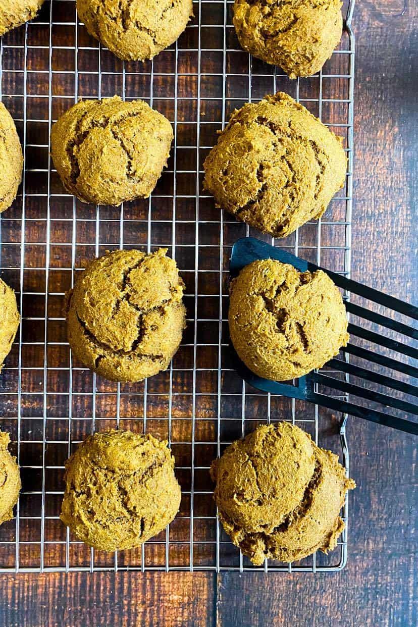 vegan pumpkin cookies no oil