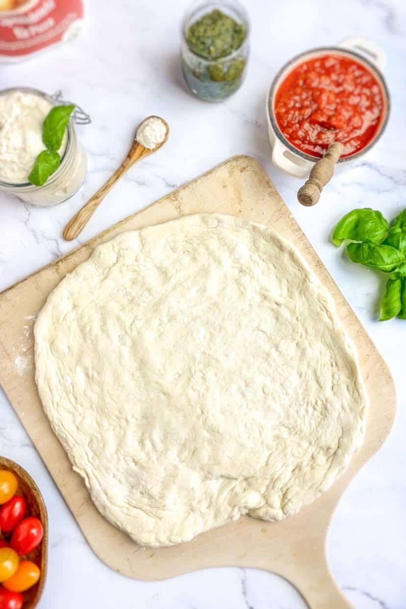 vegan pizza crust recipe