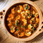 tajine crevettes food