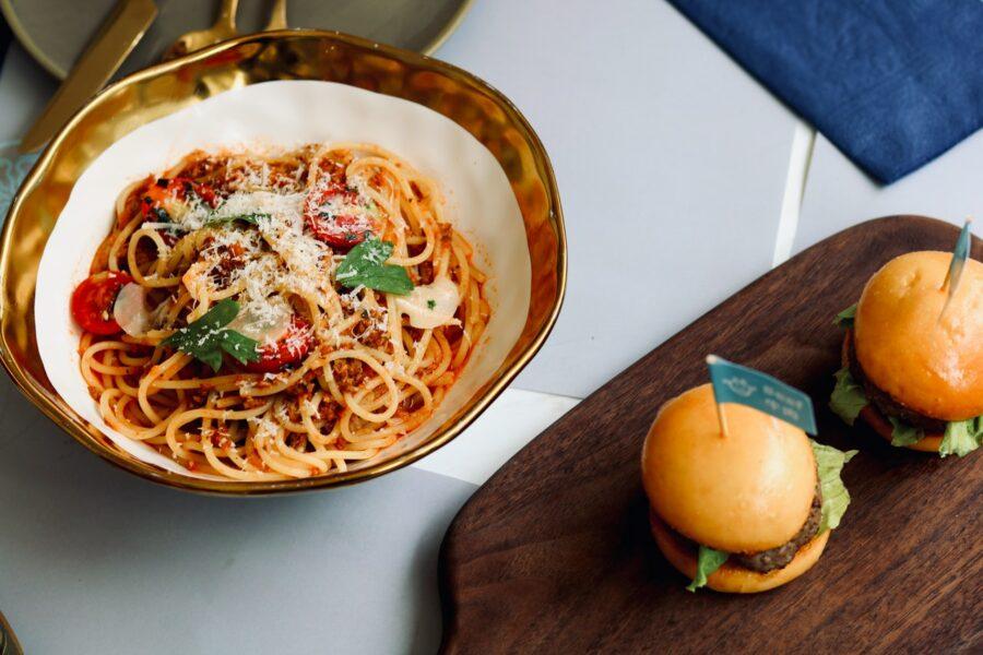 Rigatoni ou spaghetti à la puttanesca