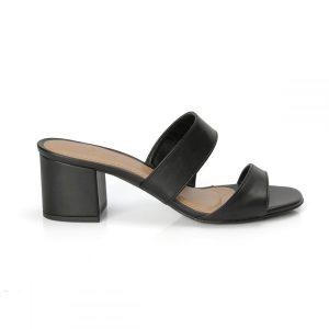 tamanco, sandália tiras cruzadas, sandália nó, sandália verão, anos 80 salto bloco, rasteirinha, SANDÁLIA MINIMAL, CORAL, preta
