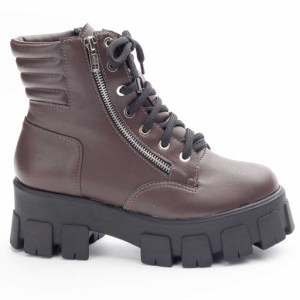 Coturno inverno 21, coturno marrom moda comprar