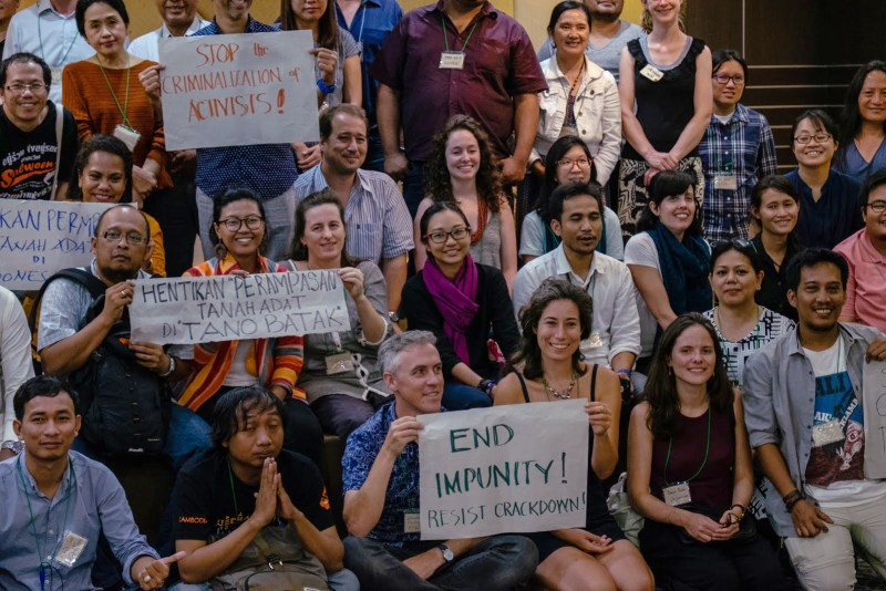 Forest Defenders Conference, 2018