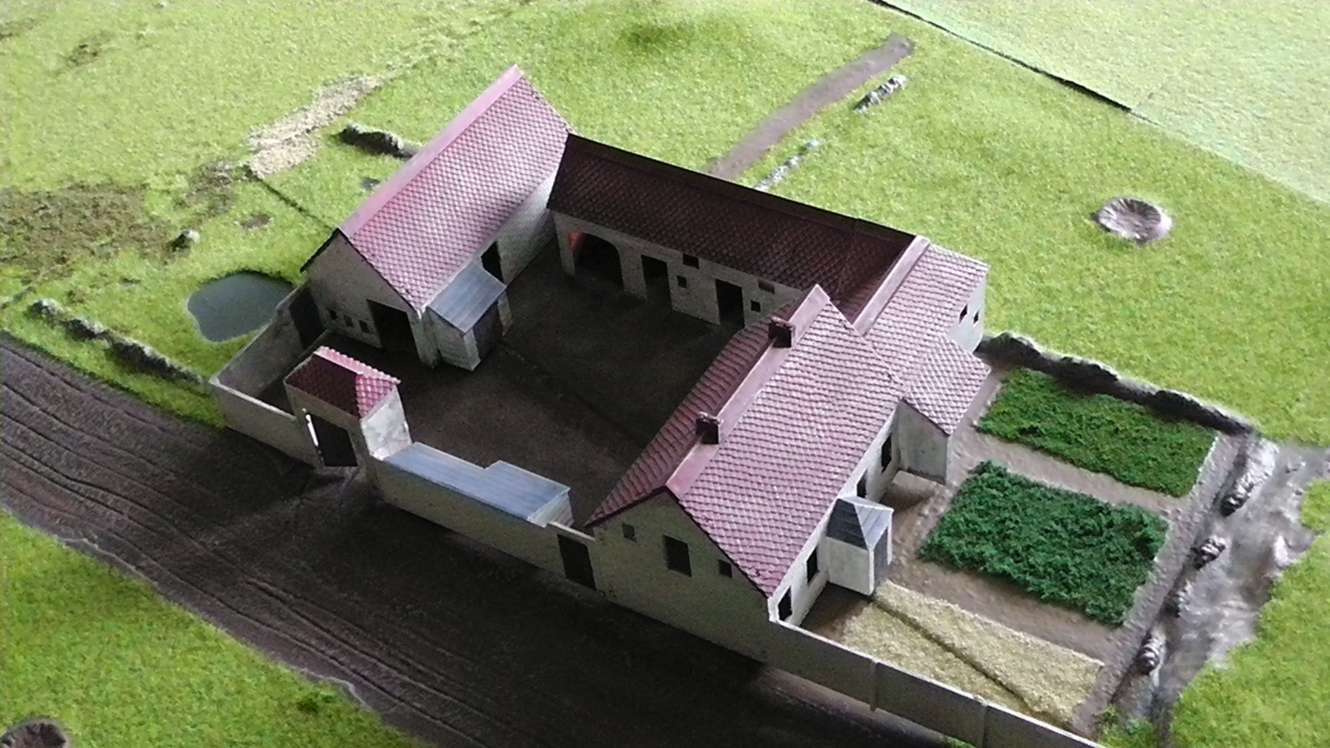 Building And Painting The Airfix 1815 La Haye Sainte