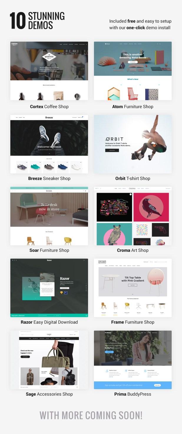 Nota - Creative Multi-Purpose eCommerce Theme - 3