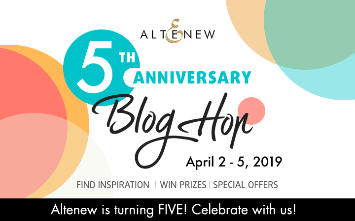 Altenew 5th Anniversary Blog Hop + Giveaway