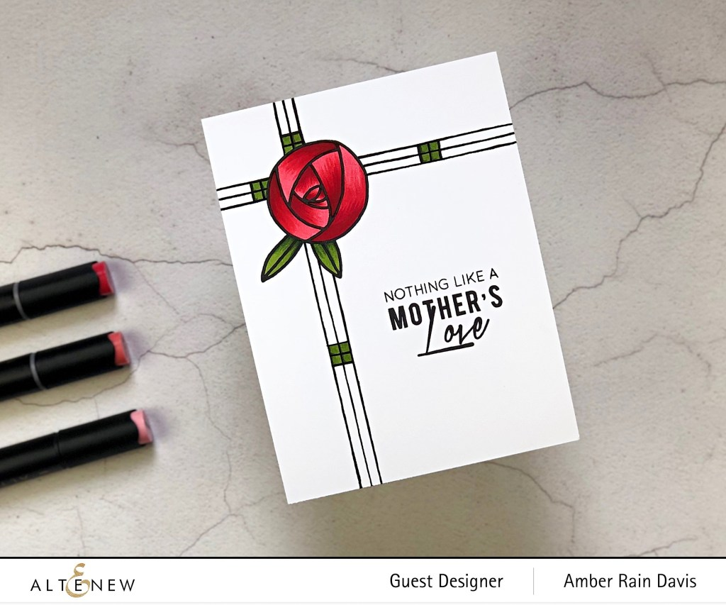 Altenew Rennie Roses Handmade Card