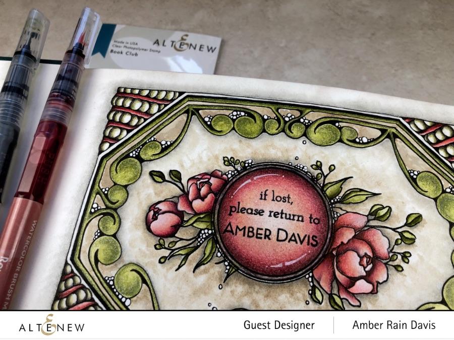 Zen Gem with Altenew Book Club Stamp Set