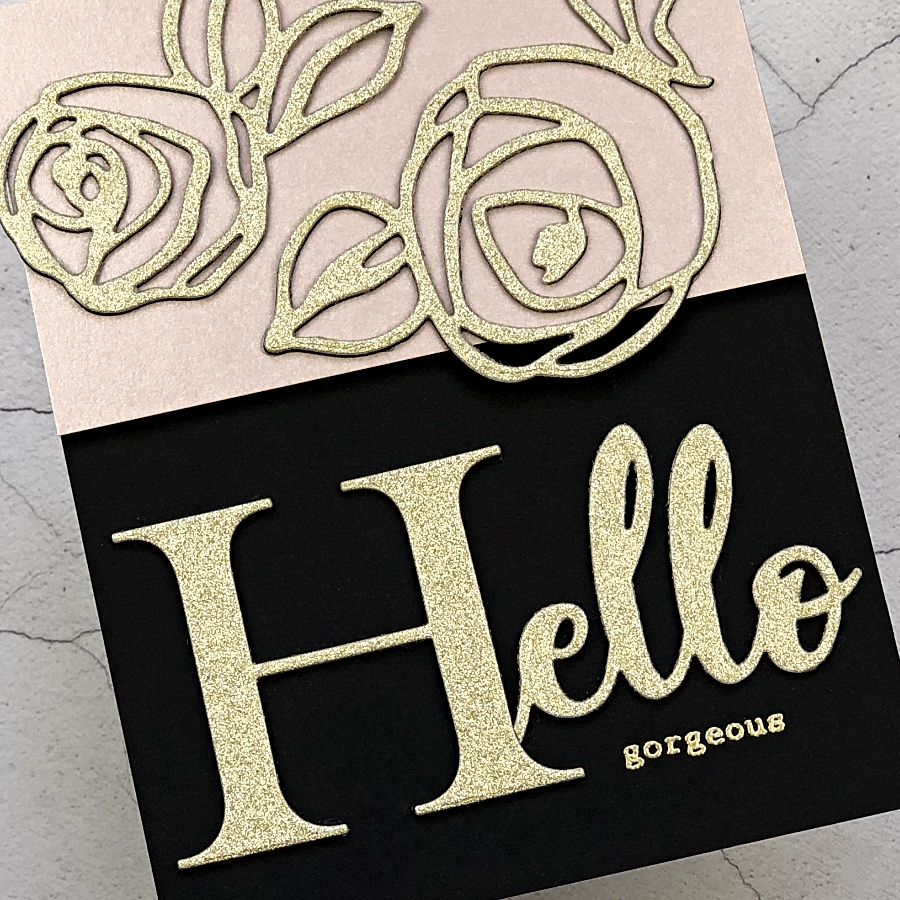 MirriSparkle Glitter Cardstock from CutCardStock.com