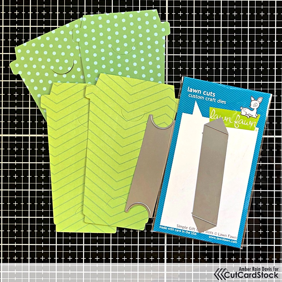 Lawn Fawn Gift Card Slots Die