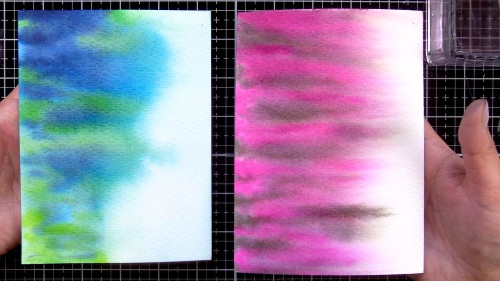 Watercolor Wash Background Techniques