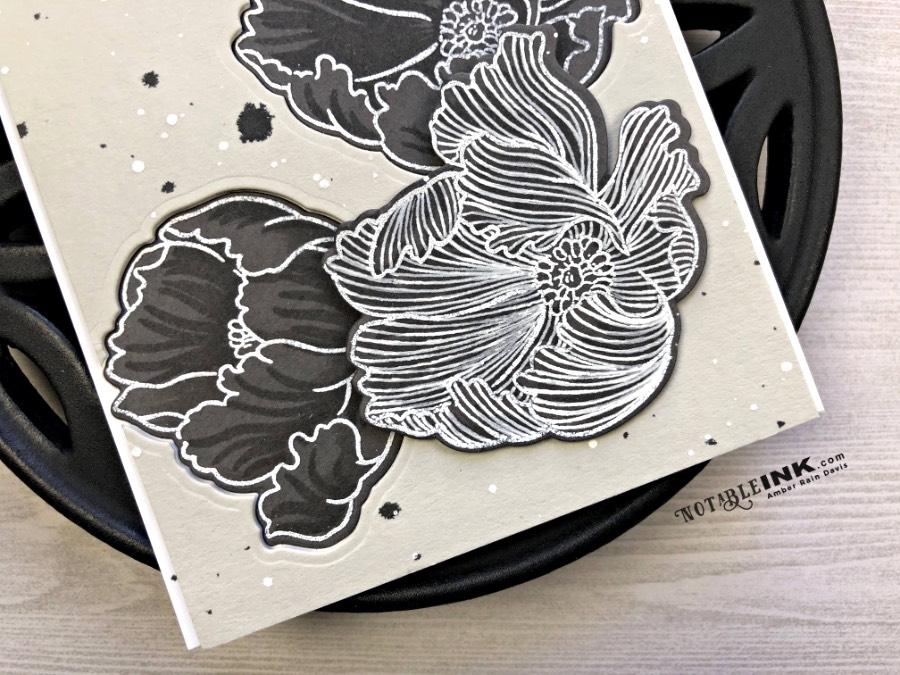Zentangle® with Altenew Build-a-Flower: Poppy