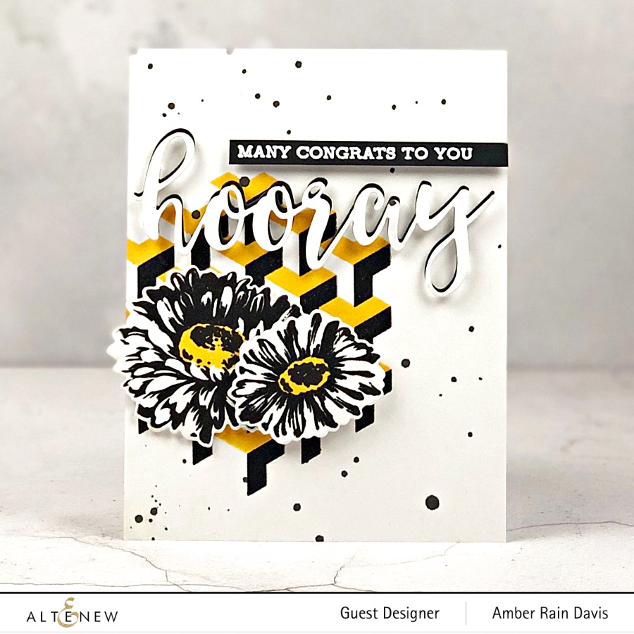 Altenew Pattern Power Stamp Set, Altenew Sunflower Daisy Stamp Set
