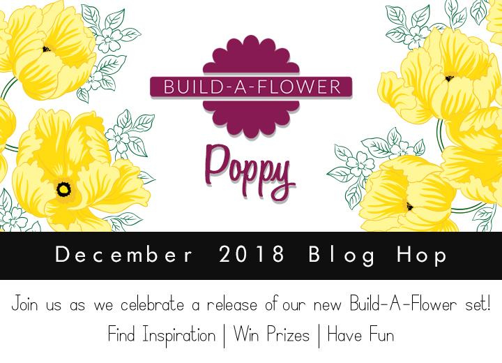Altenew Build-A-Flower: Poppy Blog Hop + Giveaway