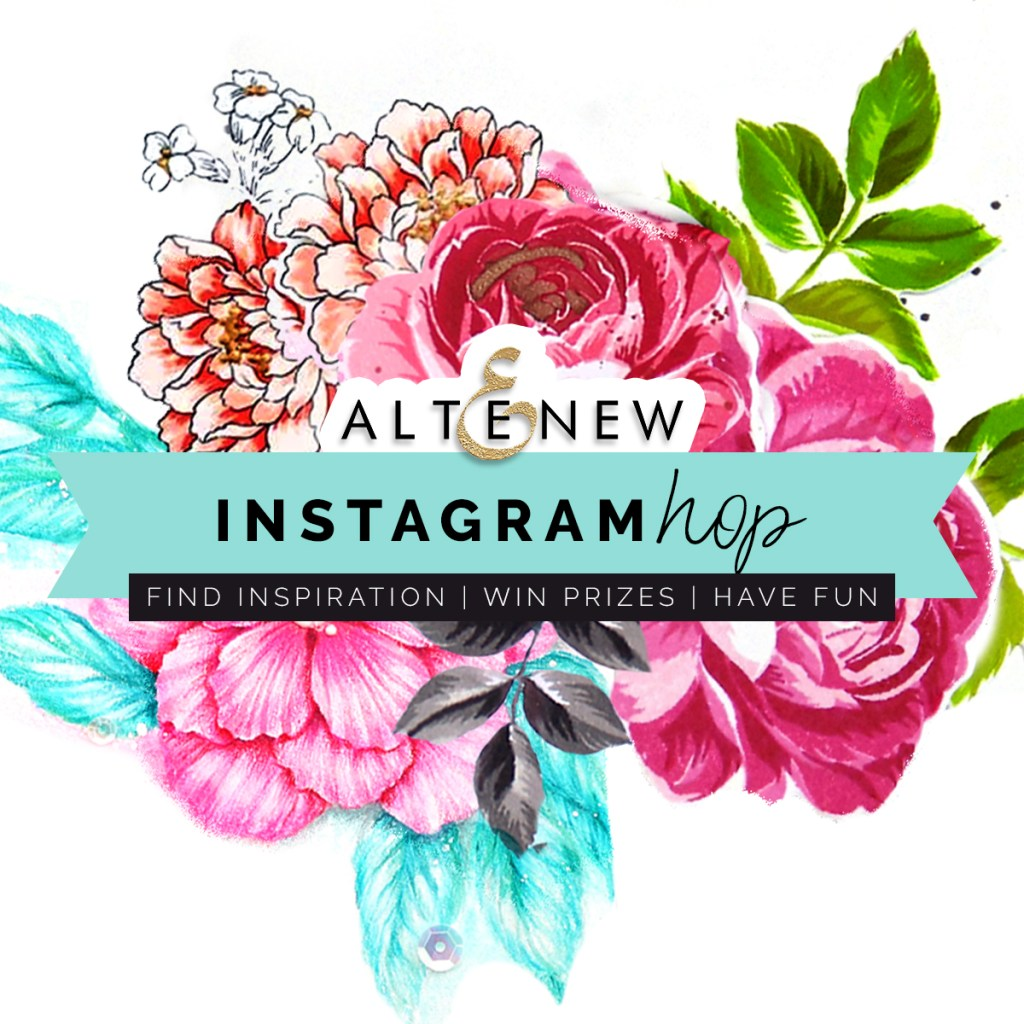 Altenew Instagram Hop + GIVEAWAY Celebrating 50K Followers