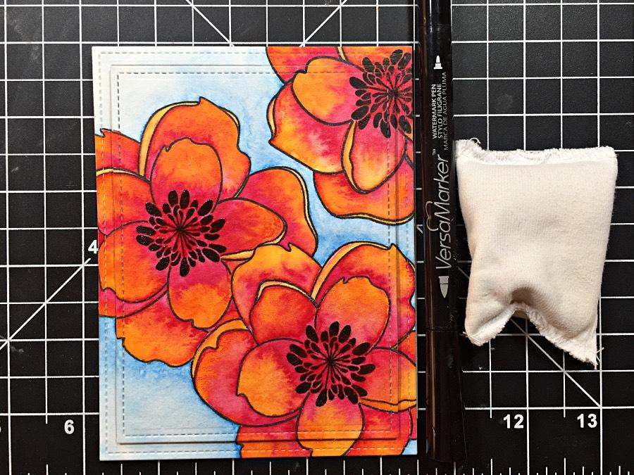 Watercolor Mondo Magnolia