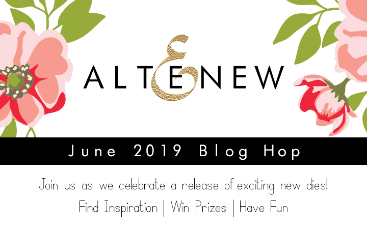 Altenew June 2019 Stand Alone Die Release Blog Hop + Giveaway