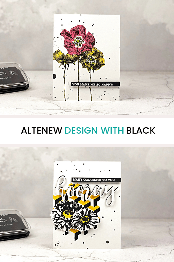 Pin This Post: Altenew Design with Black
