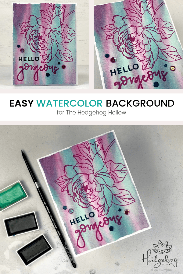 Pinterest | Easy Watercolor Background
