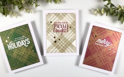 CAS Christmas Cards