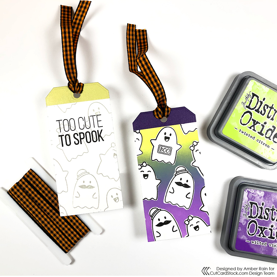 Too Cute to Spook Treat Tags