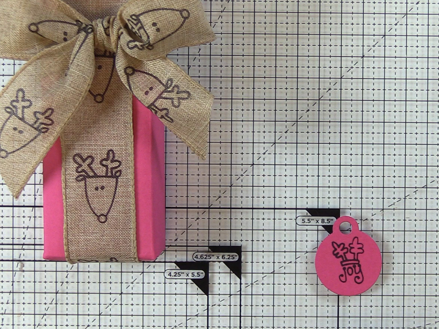 Stamp sentiment tag