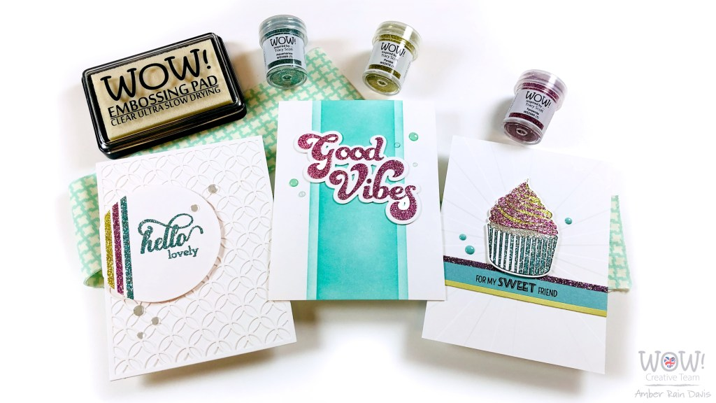 Glitter Embossing Tips | Layer Stamps, Sentiments, & Tape