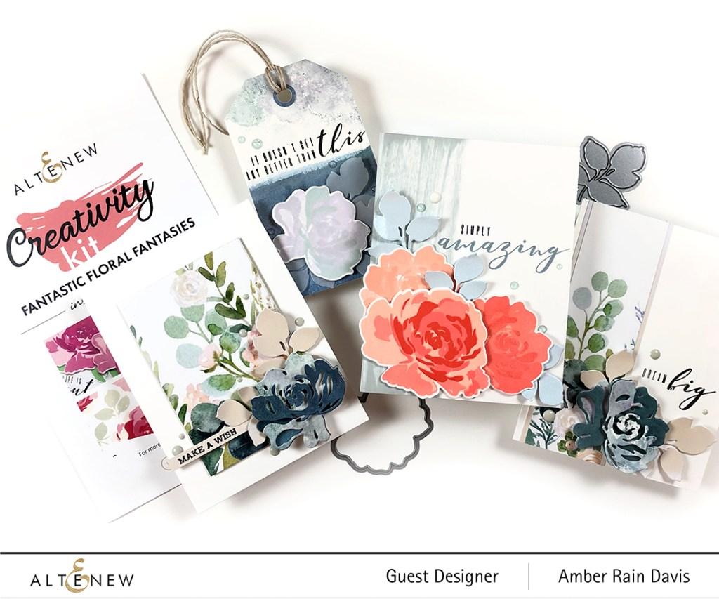 Altenew Guest Designer | Fantastic Floral Fantasies