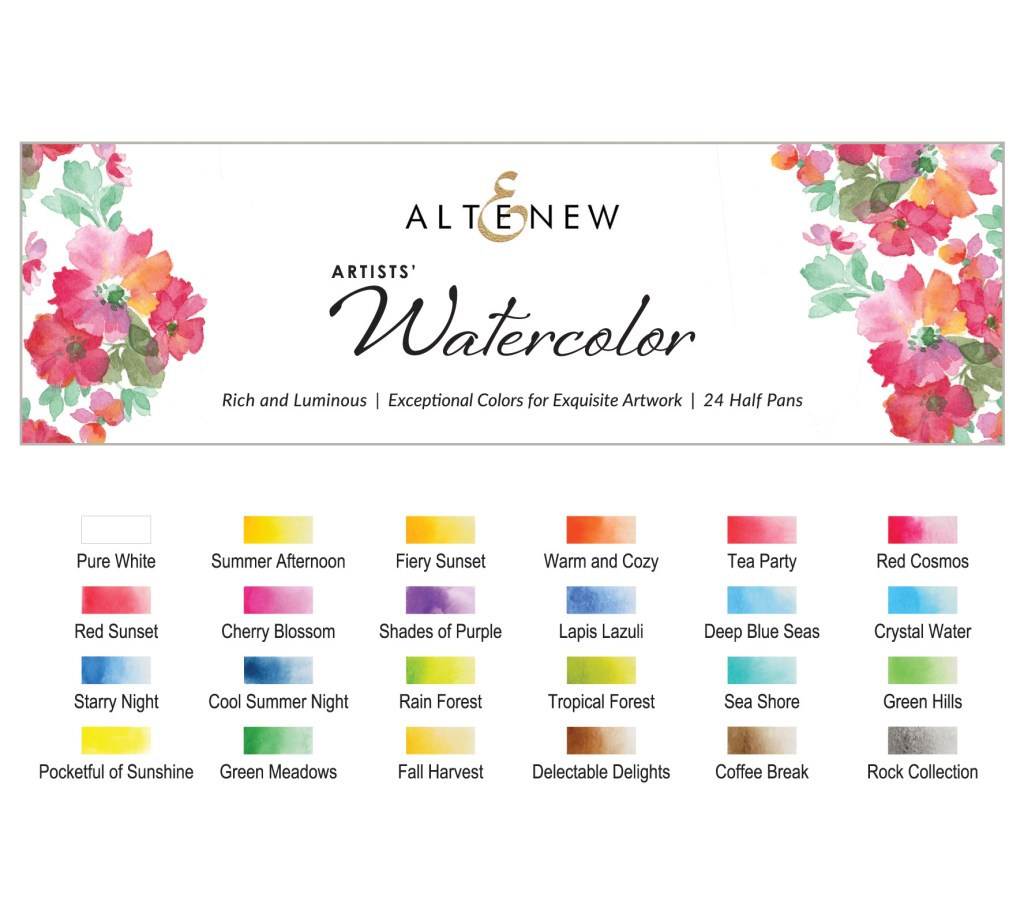 Altenew Artists' Watercolor Set