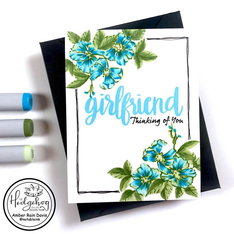 Is your floral stamp too intricate?