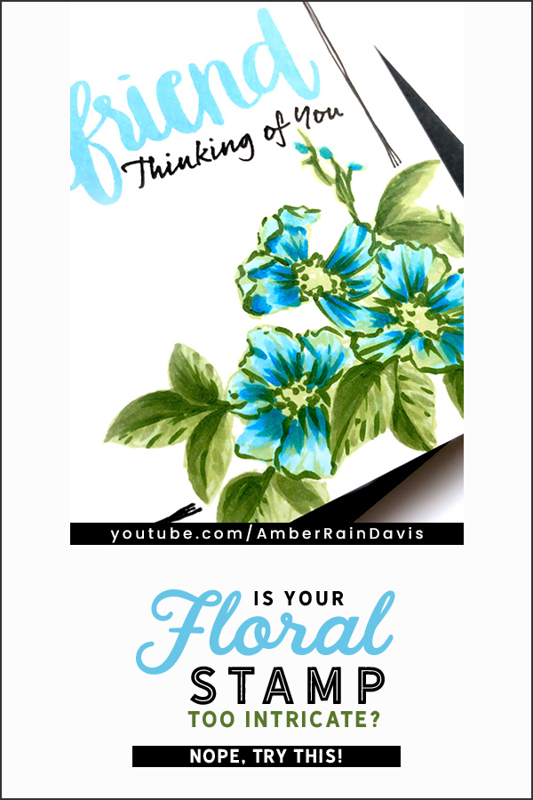 Pinterest | Copic Color Intricate Floral Stamps
