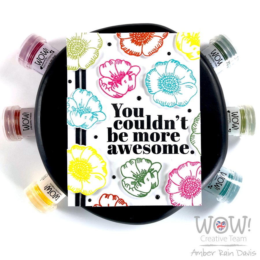 PINTEREST | WOW! + Simon Says Stamp Rainbow Embossing